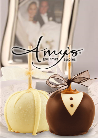 Unique Wedding Gifts Ottawa : ... Wedding Favors: Candy Apples for Your Fall Wedding Kingston Wedding