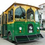 Green Tour Trolley