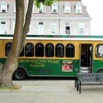 Green Trolley Downtown Kingston