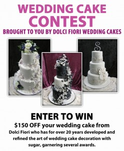 Dolci Fiori Wedding Cake Contest Poster