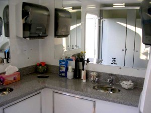 Luxurious Mobile Restroom Trailers Kingston Wedding Planner